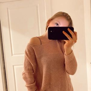 Hollister knit cozy sweater